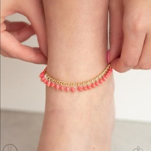 NEW! Paparazzi Mermaid Mix Orange Anklet